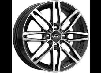 Диск колесный, легкосплавный, черный бриллиант, 15 дюймов