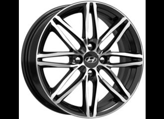 Диск колесный, легкосплавный, черный бриллиант, 16 дюймов